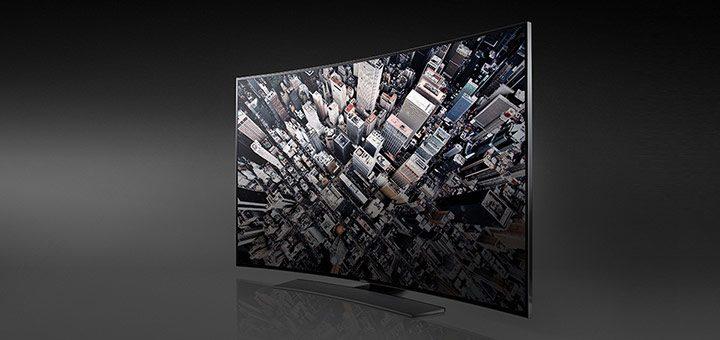 TV cu ecran curbat