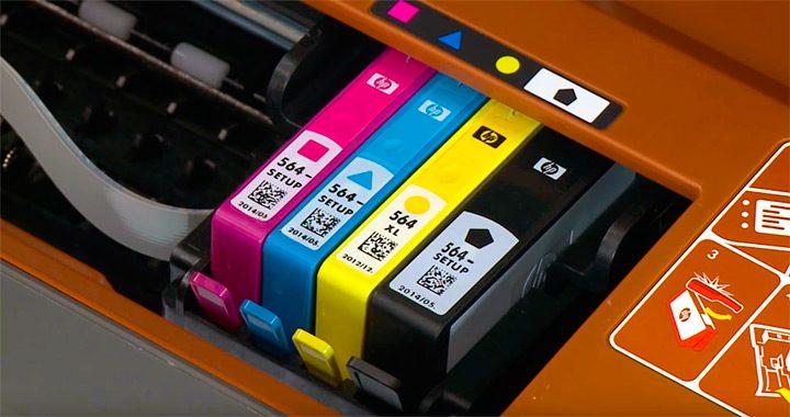 Cartuse separate de cerneala pentru imprimante color
