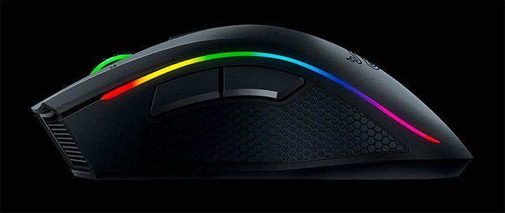 mouse de gaming cu iluminare LED RGB