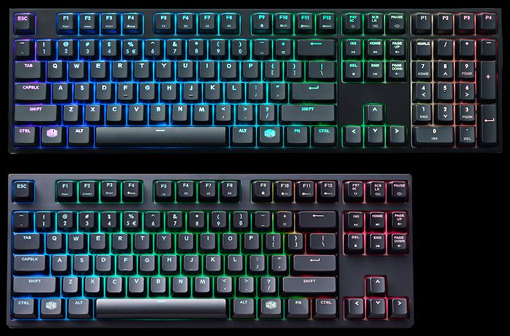 tastatura cu bloc numeric vs tenkeyless