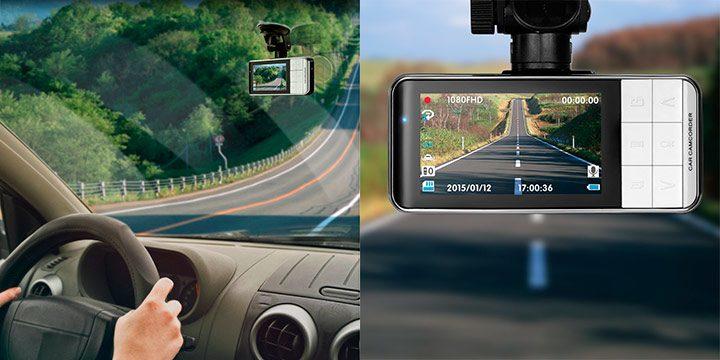 camera auto DVR de bord