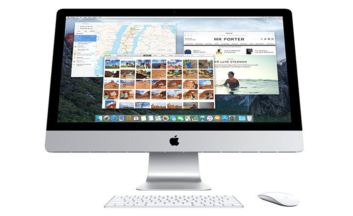 apple imac all in one pc mac os