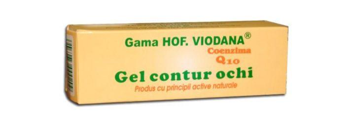 gel contur ochi hofigal viodana q10