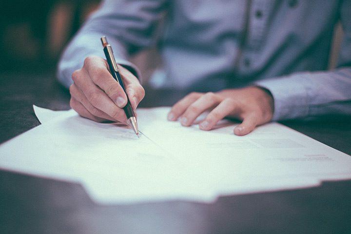 semnare contract