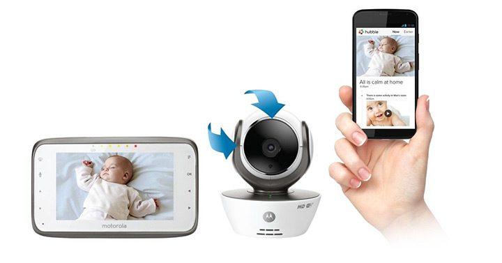 baby monitor cu aplicatie de mobil