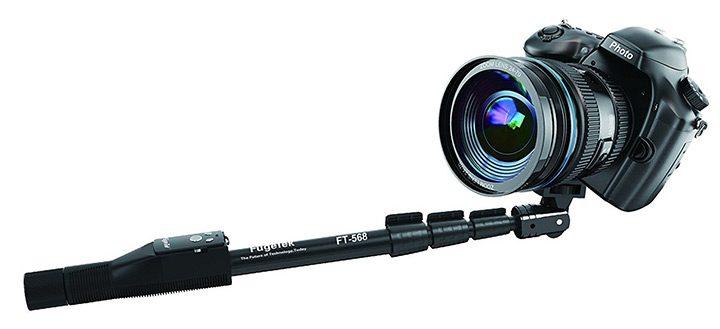 selfie stick pentru camera video