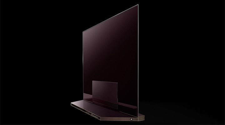 televizor 4K cu design modern