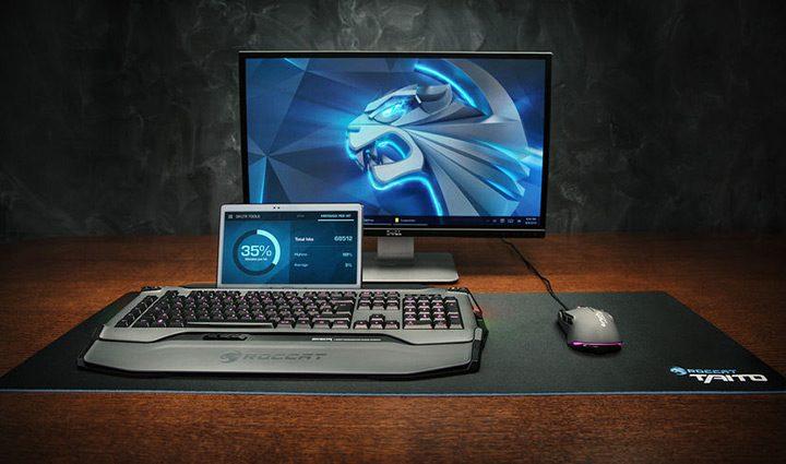 tastatura de gaming cu design modern