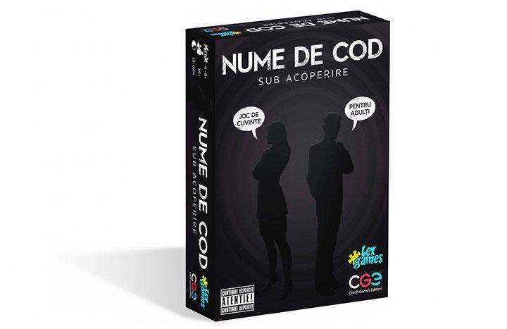 joc cu carti nume de cod