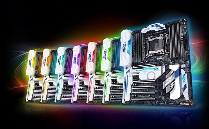 placi de baza cu iluminare RGB